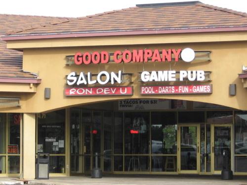 Salon Ron Dev U storefront